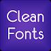 Download Fonts Clean for FlipFont® Free 9.09.0 APK