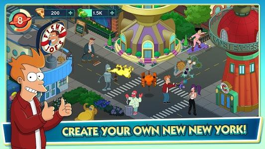 screenshot of Futurama: Worlds of Tomorrow version 1.2.1
