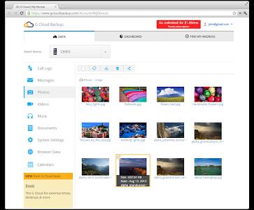 Download G Cloud Backup  APK