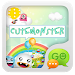 Download GO SMS Pro CuteMonster ThemeEX 1.0 APK