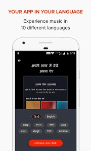 screenshot of Gaana Music: Bollywood Songs & Radio version 7.8.9
