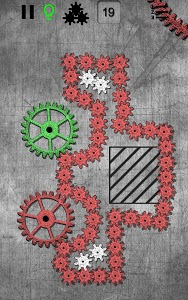 screenshot of Gears logic puzzles version 1.136