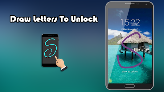screenshot of Gesture Lock Screen version 1.0.0