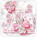 Download Glittering Diamond Flower Keyboard 10001003 APK