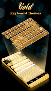 Download Gold Keyboard Themes 3.0 APK