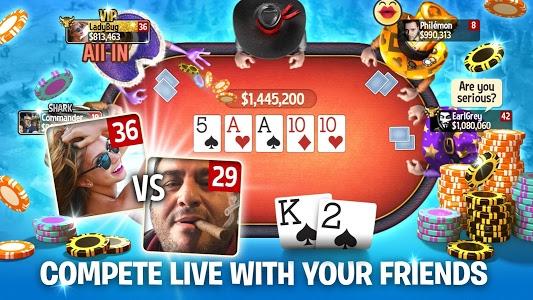 screenshot of Governor of Poker 3 - Texas Holdem Poker Online version 4.5.7
