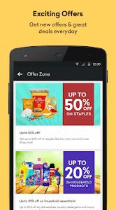 screenshot of Grofers - Order Grocery Online version 4.2.27
