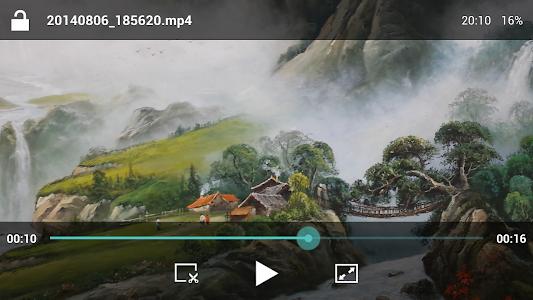 screenshot of HD Video Player version 1.6.9