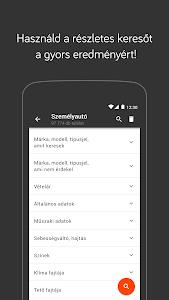 screenshot of Használtautó version 1.4.1