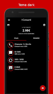 screenshot of I Consumi version Varies with device
