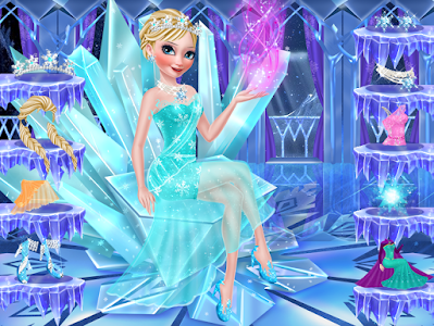 screenshot of Icy Queen Spa Makeup Party version 1.9.30
