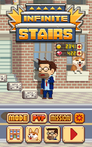 screenshot of Infinite Stairs version 1.2.19
