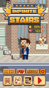 screenshot of Infinite Stairs version 1.1.37