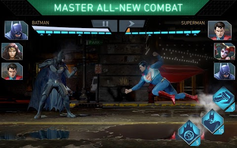 screenshot of Injustice 2 version