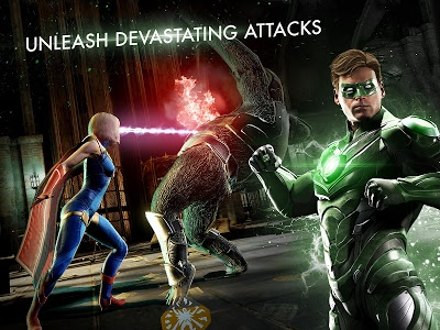 screenshot of Injustice 2 version 2.3.1