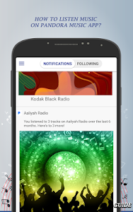screenshot of Internet Pandora Music Radio Tips&Guide version 1.2