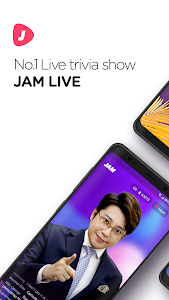 screenshot of JAM LIVE - live quiz show with cash prize version 2.0.9