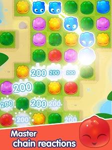 screenshot of Jelly Splash - Line Match 3 version 2.28.1