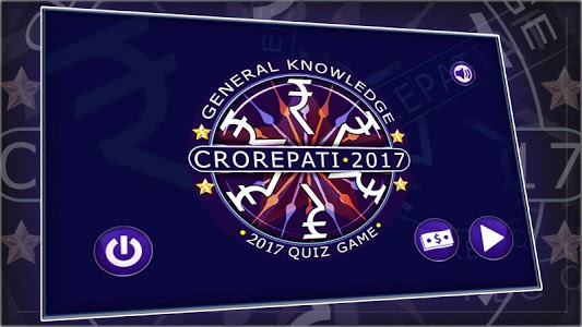 screenshot of Crorepati 2017 Hindi & English Quiz version 4.0