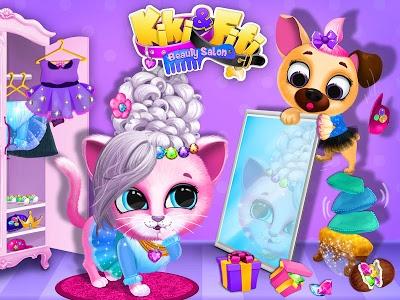 Download Kiki & Fifi Pet Beauty Salon - Haircut & Makeup 3.0.7 APK