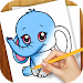 Download Learn to Draw Anime Animals 1.05 APK