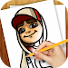 Download Learn to Draw Subway Surfers 1.02 APK