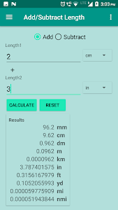 Download Length Converter: convert mm,cm,m, feet,yard,mile 1.4 APK