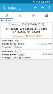 screenshot of Loterias Mobile - Mega Sena da Virada version 3.3.7