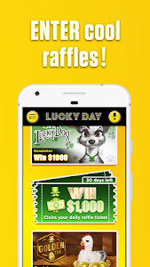 screenshot of Lucky Day - Win Real Money version 5.5.2