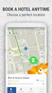 screenshot of MAPS.ME – Offline Map and Travel Navigation version 8.6.2-Google