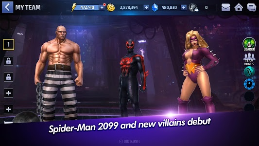screenshot of MARVEL Future Fight version 3.3.0