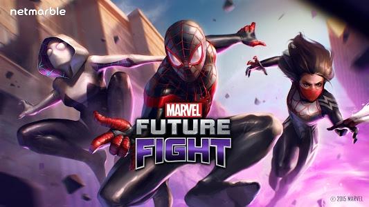 screenshot of MARVEL Future Fight version 1.8.0
