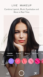 screenshot of MakeupPlus - Your Own Virtual Makeup Artist version 4.1.95