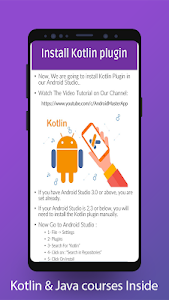 Download Master Android - Learn Android, Java & Kotlin 11 APK