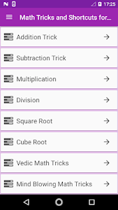 Download Math Tricks Competitive Exam 1.0 APK