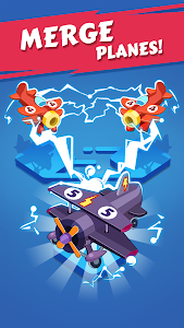 screenshot of Merge Plane - Click & Idle Tycoon version 1.6.6