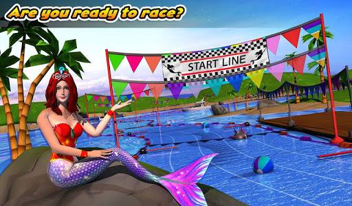 Download Mermaid Race 2019 1.5 APK