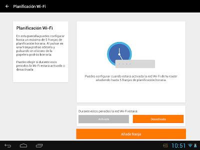 screenshot of Mi Livebox version 4.1.3