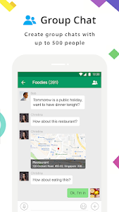 screenshot of MiChat - Chat, Date and Meet New People Nearby version 0.2.3