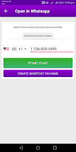 Download Hide Whatsapp chat Open in Whatsapp Quick Launch 3.1.3 APK