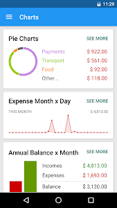 screenshot of Budget & Personal Finance version 2.0.15.10.23