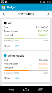 screenshot of Mobills Finance Manager version 2.0.14.10.02