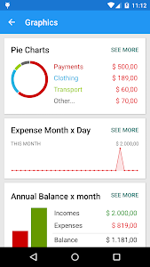 screenshot of Mobills Finance Manager version 2.0.15.06.05