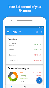 screenshot of Mobills: Budget Planner version 3.1.17.08.02