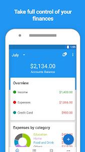 screenshot of Mobills: Budget Planner version 3.1.17.09.21