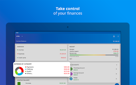 screenshot of Mobills: Budget Planner version 3.2.18.07.09