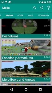 Download Mods for Minecraft 2.12.2 APK