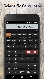 screenshot of Scientific Calculator version 2.9.2