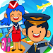 Download My Pretend Airport - Kids Travel Town Games 1.9 APK