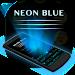 Download Neon Blue Keyboard Theme 30.0 APK